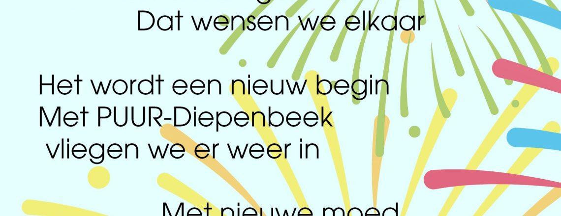 Gelukkig nieuwjaar Diepenbeek!